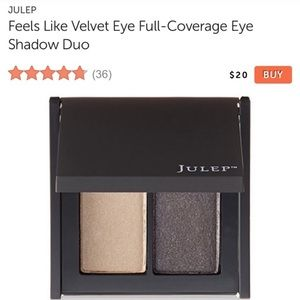 Julep eye shadow duo sequins & showtime